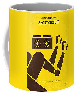 No470 My Short Circuit Minimal Movie Poster Coffee Mug