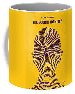 No439 My The Bourne Identity Minimal Movie Poster Coffee Mug