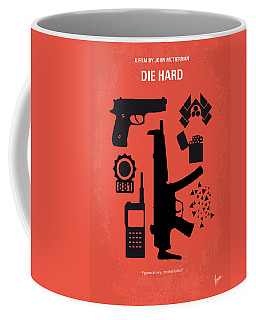 No453 My Die Hard Minimal Movie Poster Coffee Mug