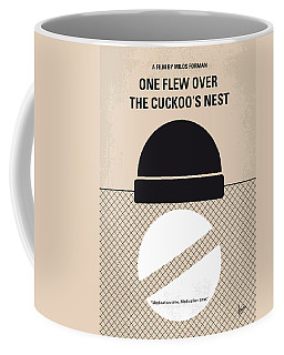 No454 My One Flew Over The Cuckoos Nest Minimal Movie Poster Coffee Mug