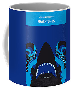 No485 My Sharktopus Minimal Movie Poster Coffee Mug