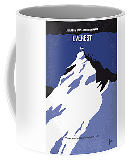 No492 My Everest Minimal Movie Poster Coffee Mug