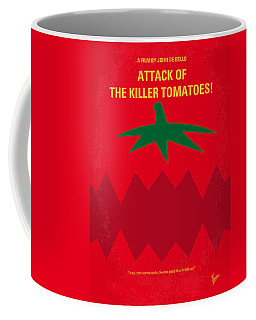No499 My Attack Of The Killer Tomatoes Minimal Movie Poster Coffee Mug