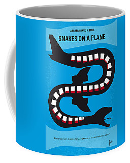 No501 My Snakes On A Plane Minimal Movie Poster Coffee Mug