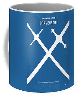 No507 My Braveheart Minimal Movie Poster Coffee Mug