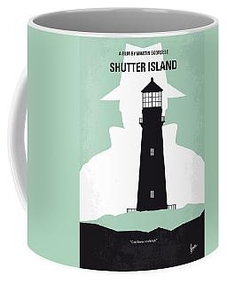 No513 My Shutter Island Minimal Movie Poster Coffee Mug