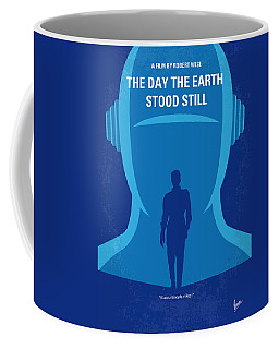 No514 My The Day The Earth Stood Still Minimal Movie Poster Coffee Mug