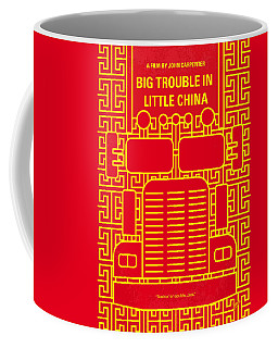 No515 My Big Trouble In Little China Minimal Movie Poster Coffee Mug