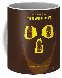 No517 My The Temple Of Doom Minimal Movie Poster Coffee Mug