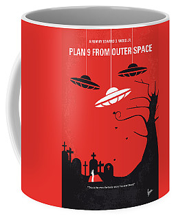 No518 My Plan 9 From Outer Space Minimal Movie Poster Coffee Mug