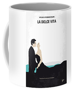 No529 My La Dolce Vita Minimal Movie Poster Coffee Mug