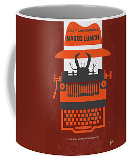 No534 My Naked Lunch Minimal Movie Poster Coffee Mug