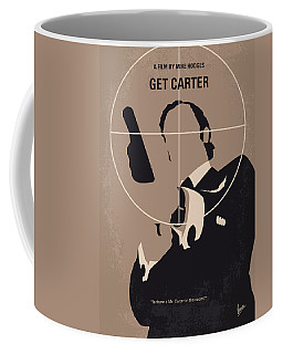 No557 My Get Carter Minimal Movie Poster Coffee Mug