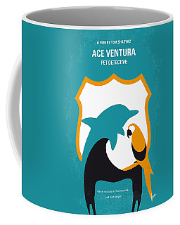 No558 My Ace Ventura Minimal Movie Poster Coffee Mug