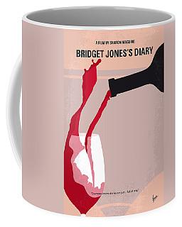 No563 My Bridget Jones Diary Minimal Movie Poster Coffee Mug