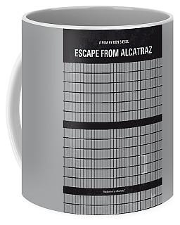 No566 My Escape From Alcatraz Minimal Movie Poster Coffee Mug