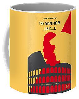 No572 My Man From Uncle Minimal Movie Poster Coffee Mug