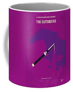 No590 My The Outsiders Minimal Movie Poster Coffee Mug
