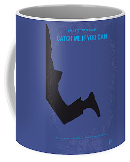 No592 My Catch Me If You Can Minimal Movie Poster Coffee Mug