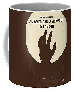No593 My American Werewolf In London Minimal Movie Poster Coffee Mug