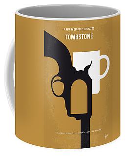 No596 My Tombstone Minimal Movie Poster Coffee Mug