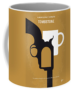 No596 My Tombstone Minimal Movie Poster Coffee Mug