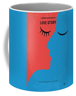 No600 My Love Story Minimal Movie Poster Coffee Mug