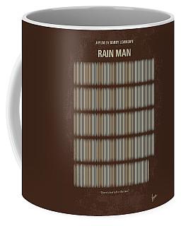 No602 My Rain Man Minimal Movie Poster Coffee Mug