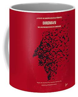 No604 My Birdman Minimal Movie Poster Coffee Mug