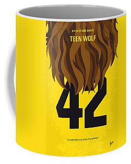 No607 My Teen Wolf Minimal Movie Poster Coffee Mug