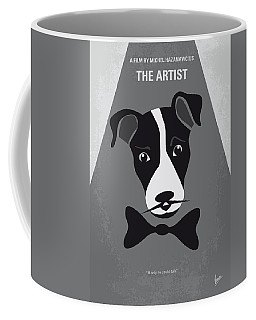 No609 My The Artist Minimal Movie Poster Coffee Mug