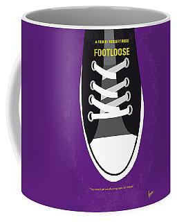 No610 My Footloose Minimal Movie Poster Coffee Mug