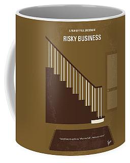 No615 My Risky Business Minimal Movie Poster Coffee Mug