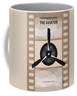 No618 My The Aviator Minimal Movie Poster Coffee Mug