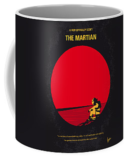 No620 My The Martian Minimal Movie Poster Coffee Mug