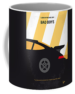 No627 My Bad Boys Minimal Movie Poster Coffee Mug