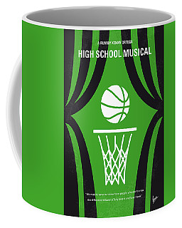 No633 My High School Musical Minimal Movie Poster Coffee Mug