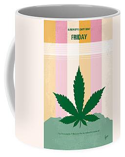 No634 My Friday Minimal Movie Poster Coffee Mug