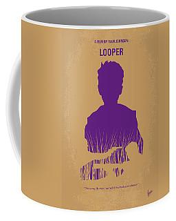 No636 My Looper Minimal Movie Poster Coffee Mug