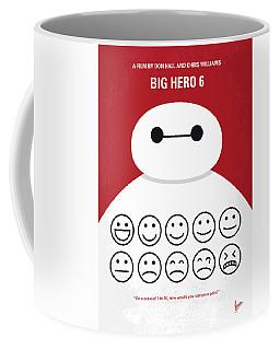No649 My Big Hero 6 Minimal Movie Poster Coffee Mug