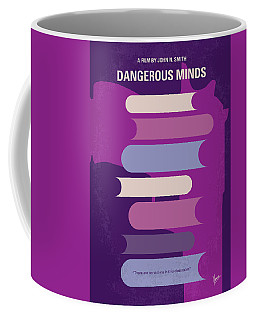 No655 My Dangerous Minds Minimal Movie Poster Coffee Mug