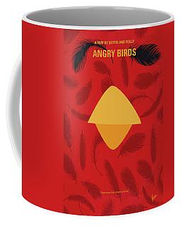 No658 My Angry Birds Movie Minimal Movie Poster Coffee Mug