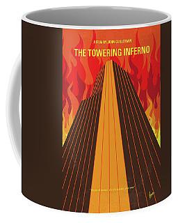 No665 My The Towering Inferno Minimal Movie Poster Coffee Mug