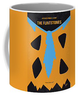 No669 My The Flintstones Minimal Movie Poster Coffee Mug