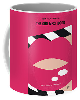 No670 My The Girl Next Door Minimal Movie Poster Coffee Mug
