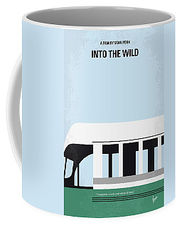 No677 My Into The Wild Minimal Movie Poster Coffee Mug