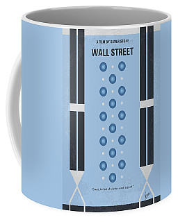 No683 My Wall Street Minimal Movie Poster Coffee Mug