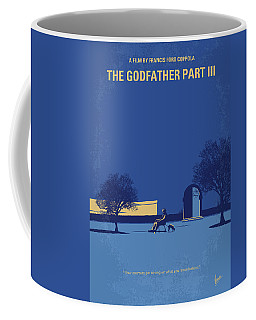 No686-3 My Godfather IIi Minimal Movie Poster Coffee Mug