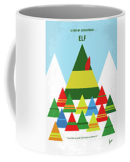No699 My Elf Minimal Movie Poster Coffee Mug