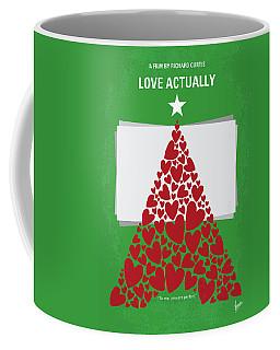No701 My Love Actually Minimal Movie Poster Coffee Mug
